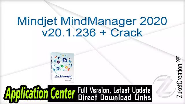Mindjet MindManager 2020 v20.1.236 + Crack