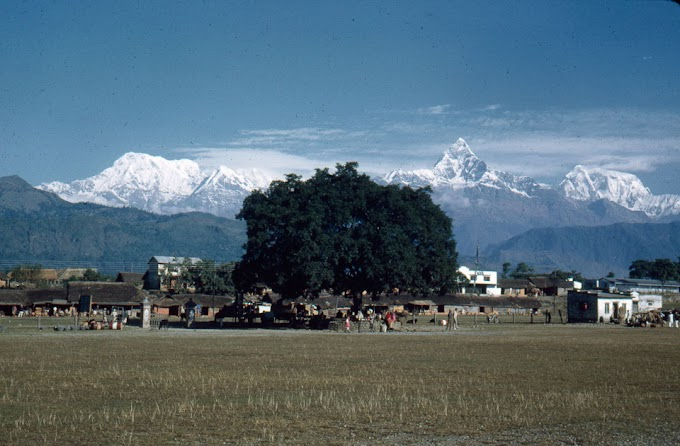 Pokhara Airport in 1960s