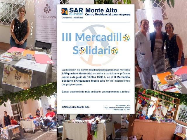 Spiral Personal en el III Mercadillo Solidario de Sarquavitae