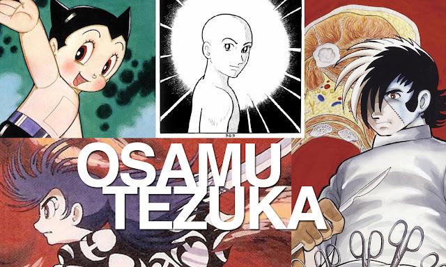 collage de ilustraciones de Tazuka Osamu