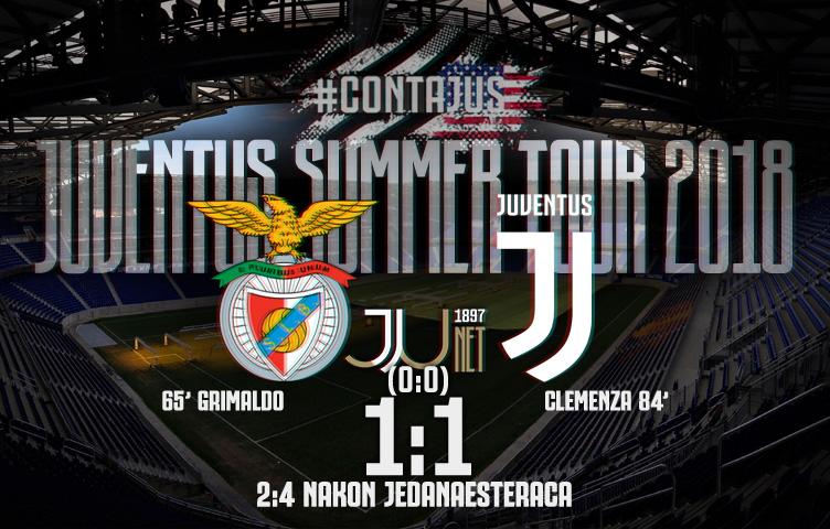 Prijateljska utakmica / Benfica - Juventus 1:1 (0:0) 2:4 np