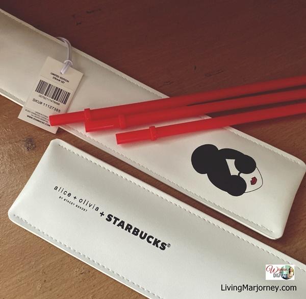 Alice + Olivia + Starbucks Straw Set