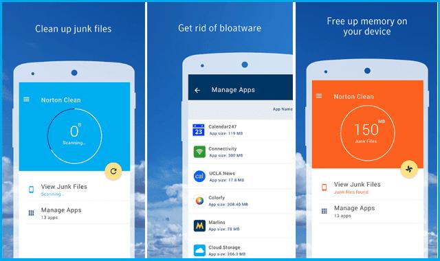 تحميل افضل 5  تطبيقات مجانية لتنظيف مساحة الذاكرة الممتلئة لهاتف بدون رووت.