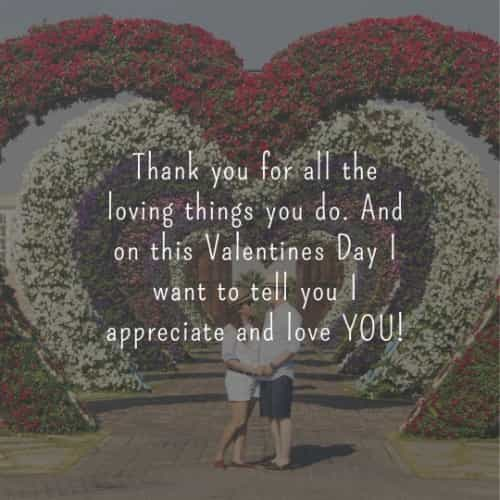 Lovely valentines day quotes and romantic messages
