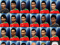 PES 2016 Real Indonesia Team Face untuk PTE Patch 5.1