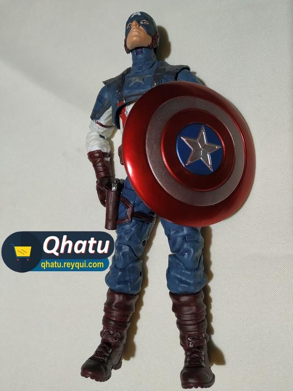 (Bs. 130) Capitán América: Figura original de 18cm