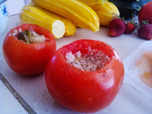 Stuffed Tomato's or Peppers