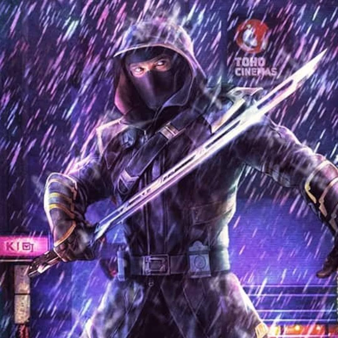 Hawkeye fanmade poster : ジェレミー・レナー主演のマーベルの配信シリーズ「ホークアイ」の物語の舞台は日本になると期待して描いてみたファンメイドのポスター ! !