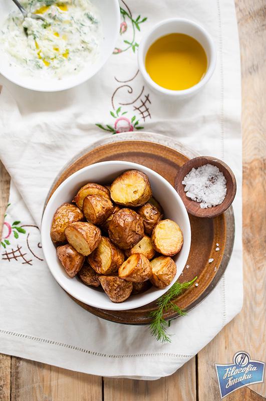 Pieczone młode ziemniaki przepis