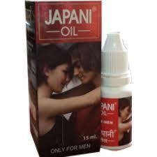 Oil used during sex