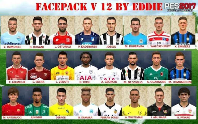 New Facepack Vol.12 PES 2017