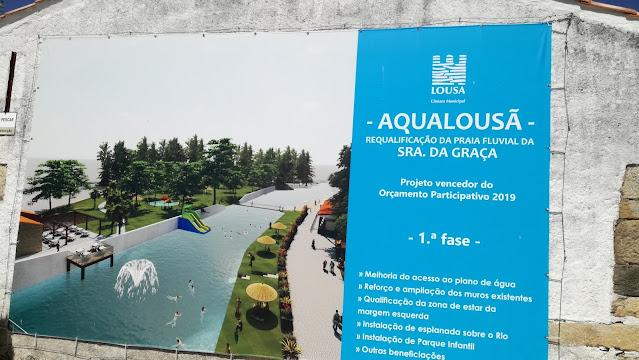 Aqualousã - requalificação da Praia Fluvial da Senhora da Graça