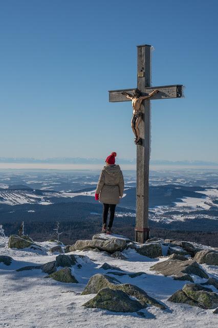 Wanderung auf den Lusen  Winterwandern im Nationalpark Bayerischer Wald 13
