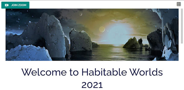 Habitable Worlds 2021online conference, Feb 22-25 (Source: www.aas.org)