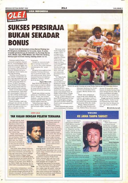 LIGA INDONESIA SUKSES PERSIRAJA BANDA ACEH