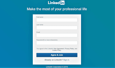 How to Signup on LinkedIn
