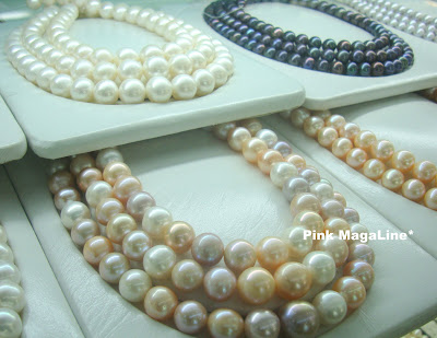 Pink Magaline Pearl Jewelry Shopping