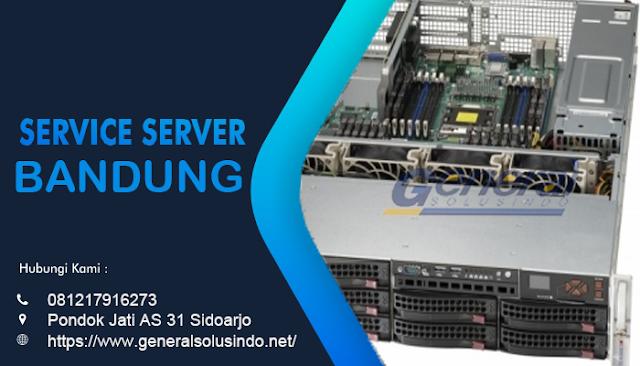 Service Server Bandung Resmi dan Profesional
