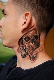 Best Neck Tattoos Design Ideas For Man's