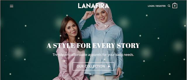 LANAFIRA | Butik Muslimah di Atas Talian