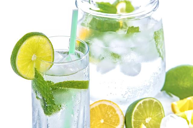 zdrowe mojito, mohito, zdrowe napoje, bez cukru, dieta