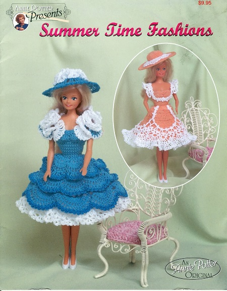 Vestidinho de Crochê Para Barbie  Summer Time Fashions