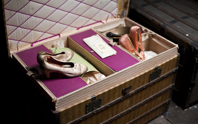 Image result for A vintage trunk not only makes a stylish coffee table, but it can also house shoes and clothing you rarely wear.