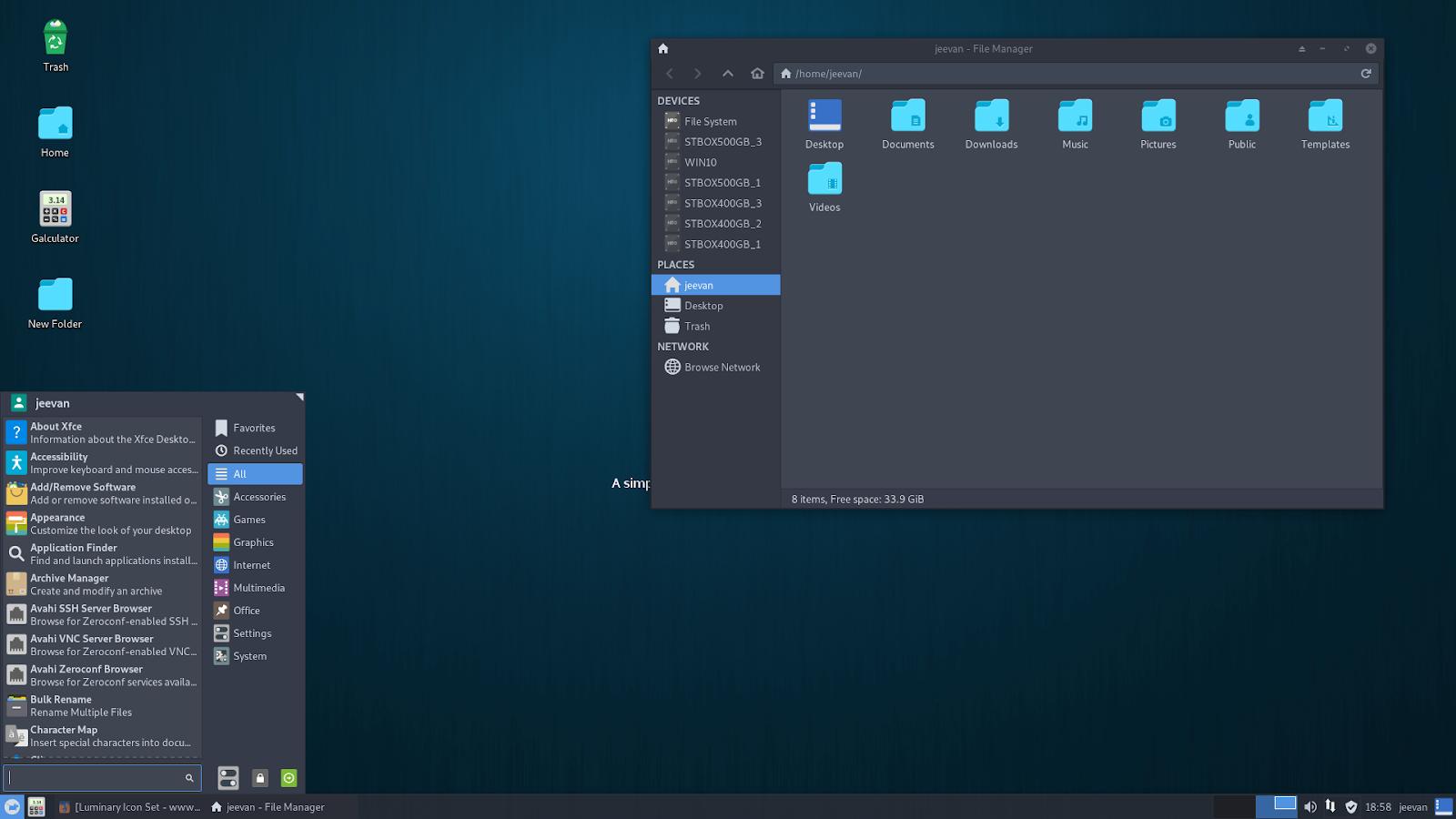 Luminary Icons Themes For Ubuntu (18 04 Bionic and 18 10 Cosmic