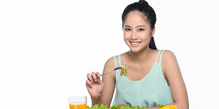 Cách giảm béo bắp chân bằng việc ăn uống hợp lý