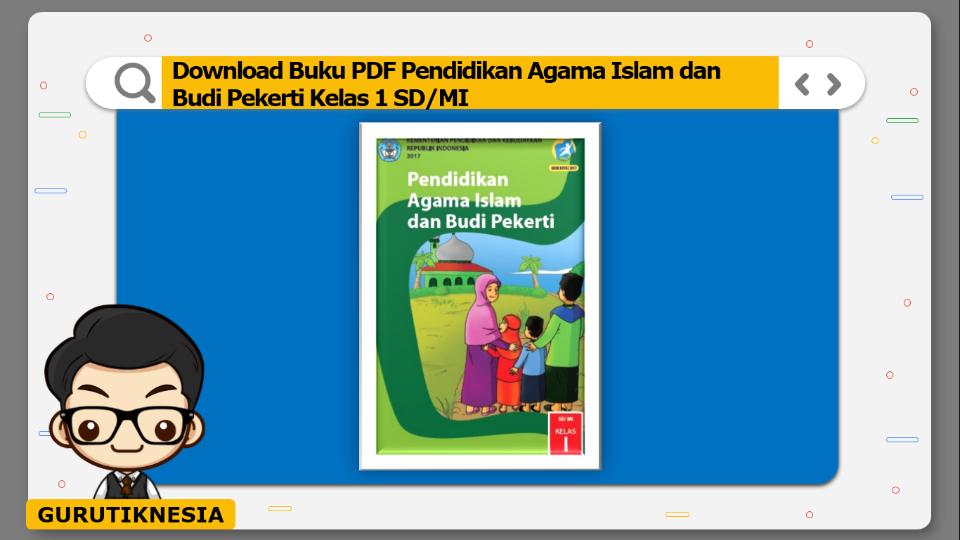 download buku pdf pendidikan agama islam dan budi pekerti kelas 1 sd/mi