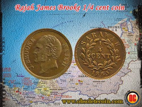 j.brooke 1/4 cent