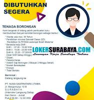 Dibutuhkan Segera di PT. Nusa Sastratara Utama Surabaya Desember 2019