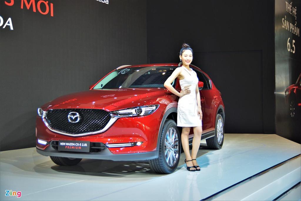 Mazda CX-5 dẫn đầu nhóm crossover ở Việt Nam nhờ giảm giá khủng