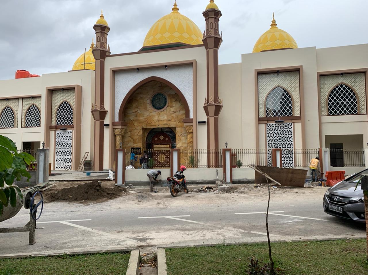 Kapolrestabes Apresiasi Berdirinya Masjid Dzikrullah