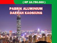 Job Ready Pabrik Taiwan Maret 2020 - Pabrik Aluminium (Membuat Baut).