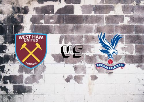 West Ham United vs Crystal Palace  Resumen