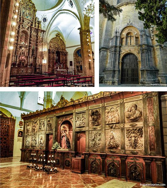 Igreja de Santa Maria la Mayor em Ronda, Andaluzia