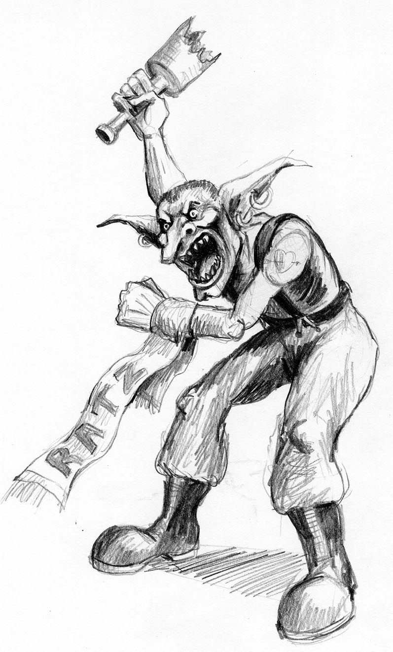 The Art of Fantasy Football: 2nd Edition Goblin Team