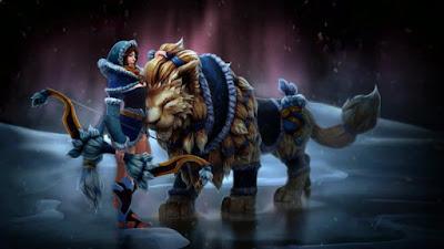 Mirana - Snowstorm Huntress