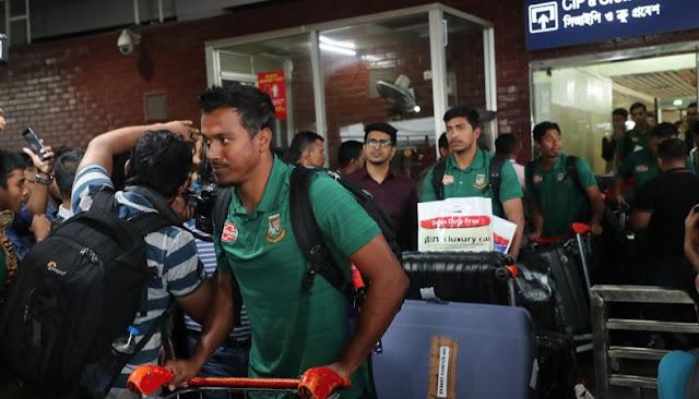 श्रीलंका दौरे से बाहर हुए मुर्तजा, सैफउद्दीन - newsonfloor.com
