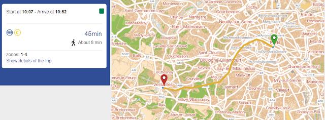 excursión a Versalles desde París