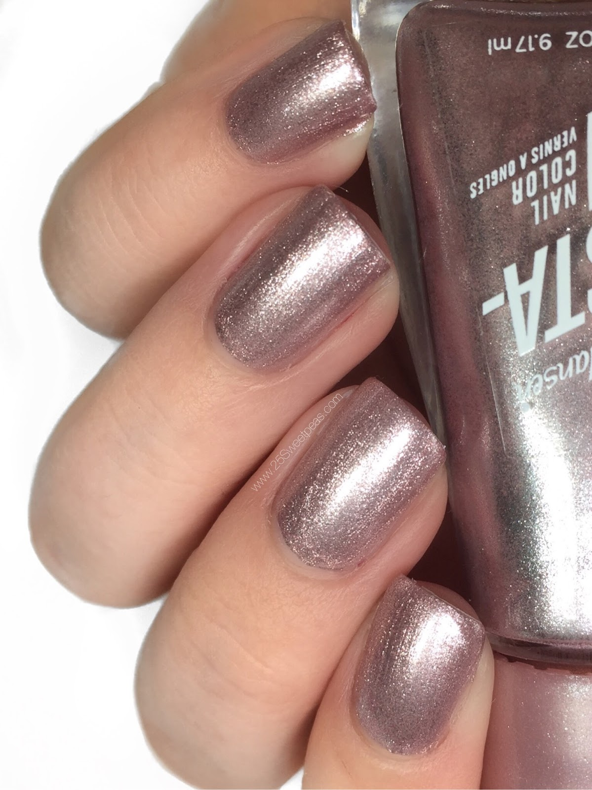 Sally Hansen Petal to the Metal