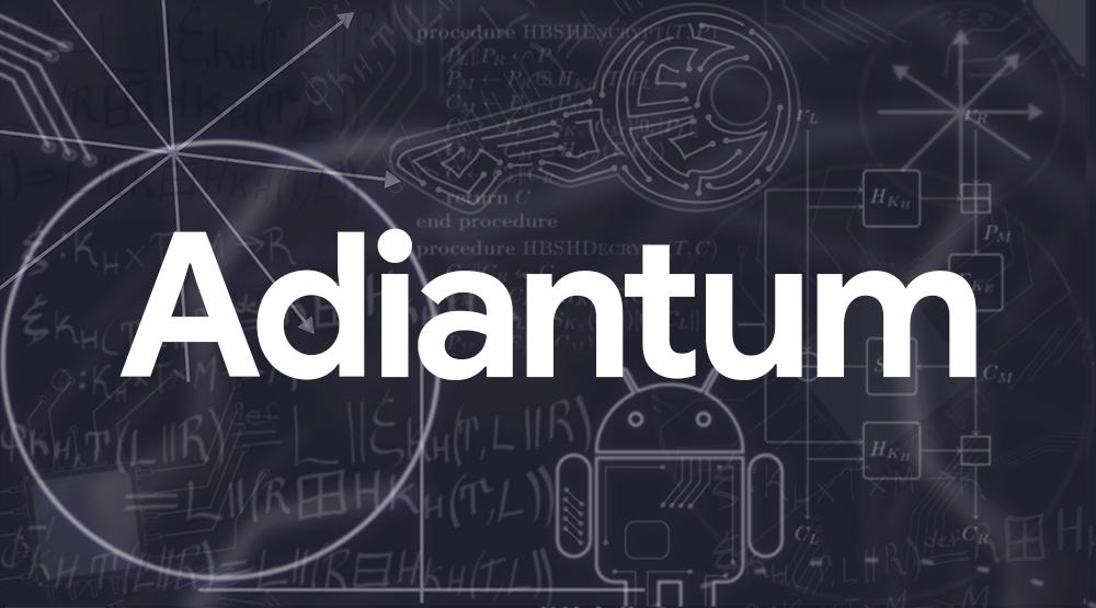 Google Online Security Blog: Introducing Adiantum: Encryption for