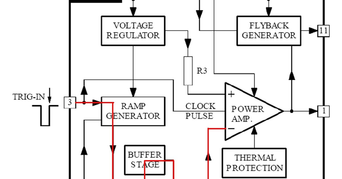 marsonotv  memahami cara kerja vertikal tda8174 polytron