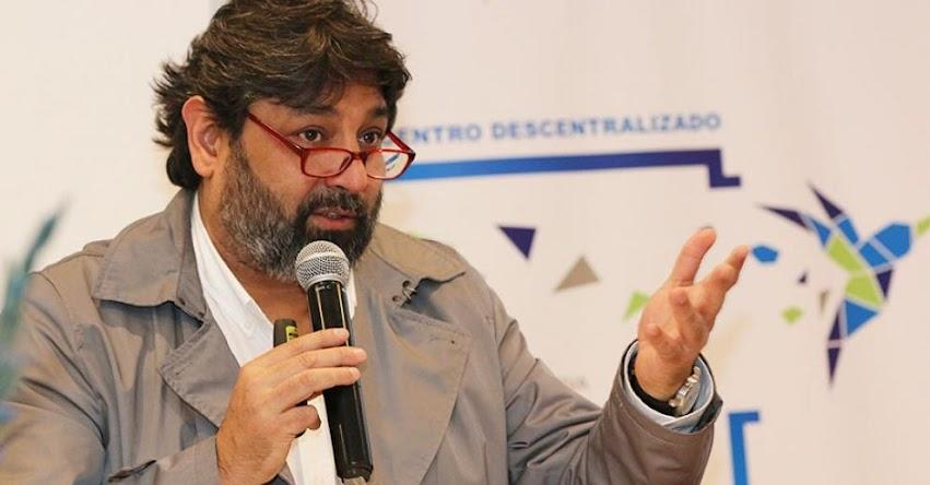 Nuevo Ministro de Educación sería Ricardo Cuenca Pareja [MINEDU]