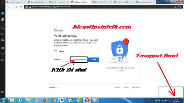 Panduan Buat Akun Gmail Baru Tanpa Verifikasi