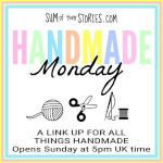 Scratch Made Food! & DIY Homemade Household is featured at the Handmade Monday Linkup.