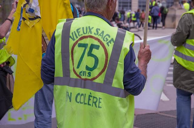 les gilets jaunes, le mouvement des Gilets jaunes, FLE, le FLE en un 'clic', exercices gratuits