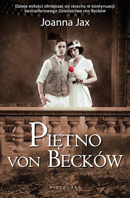 """Już jest! """"Piętno von Becków"""" Joanny Jax pod patronatem medialnym """"Subiektywnie o książkach""""!"""