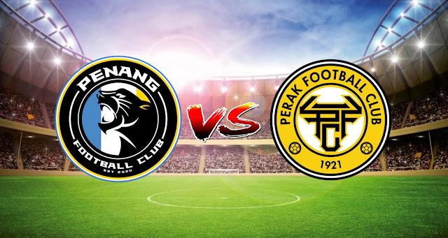 Live Streaming Penang FC vs Perak FC 3.4.2021 Liga Super